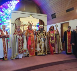 Please join us for this year's concelebrated liturgy:   Saturday, October 24, 2015 10:00 AM St. Mark Syriac Orthodox Cathedral, 260 Elm Ave, Teaneck, NJ 07666 Chief Celebrant: His Holiness Ignatius Aphrem II, Patriarch of Antioch & all the East