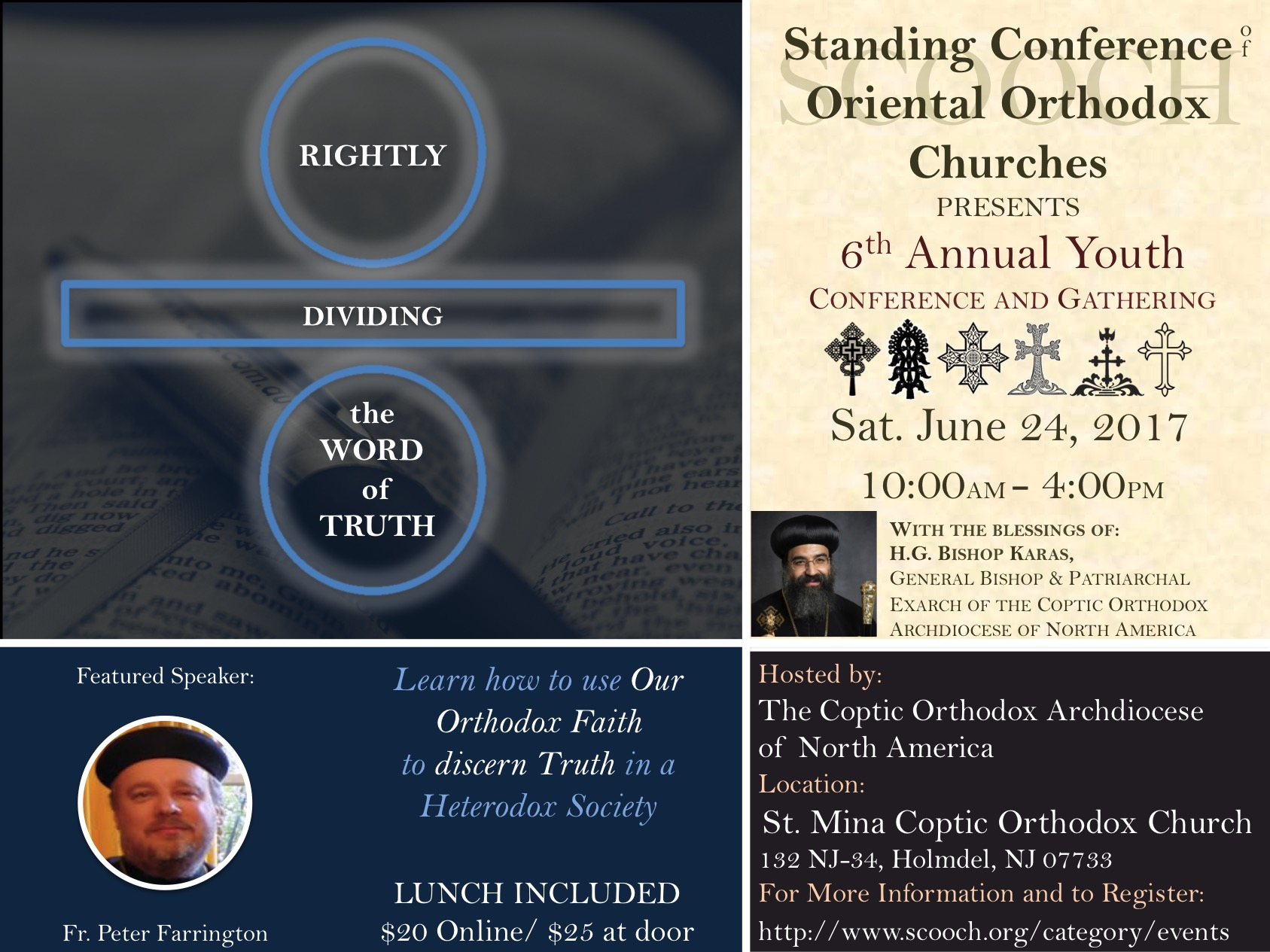 Printable Flyer for Parishes